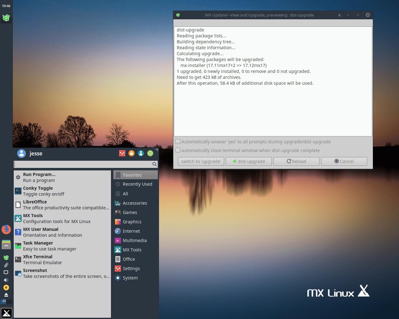 基于 Debian 的 Xfce 桌面发行版,MX Linux 17 发布