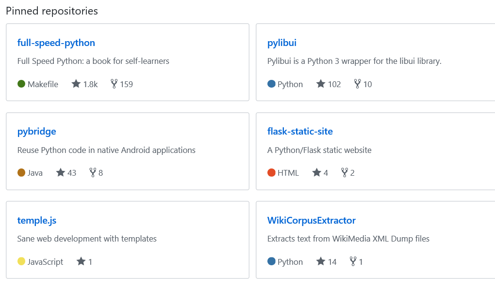 开源项目精选:python教程full-speed-python