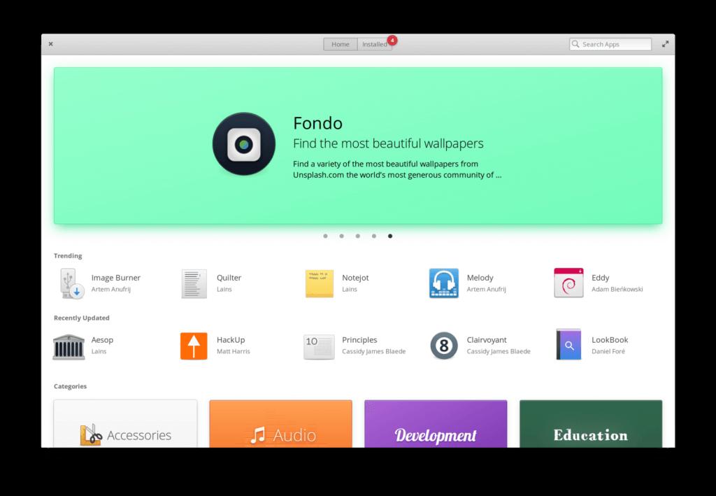 elementary OS - AppCenter