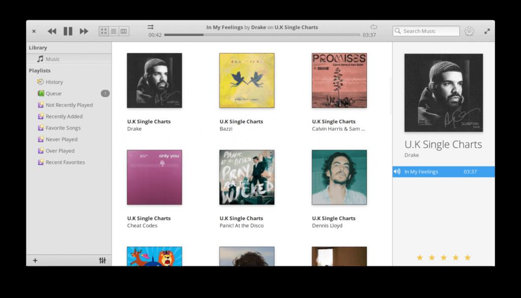elementary OS - Music