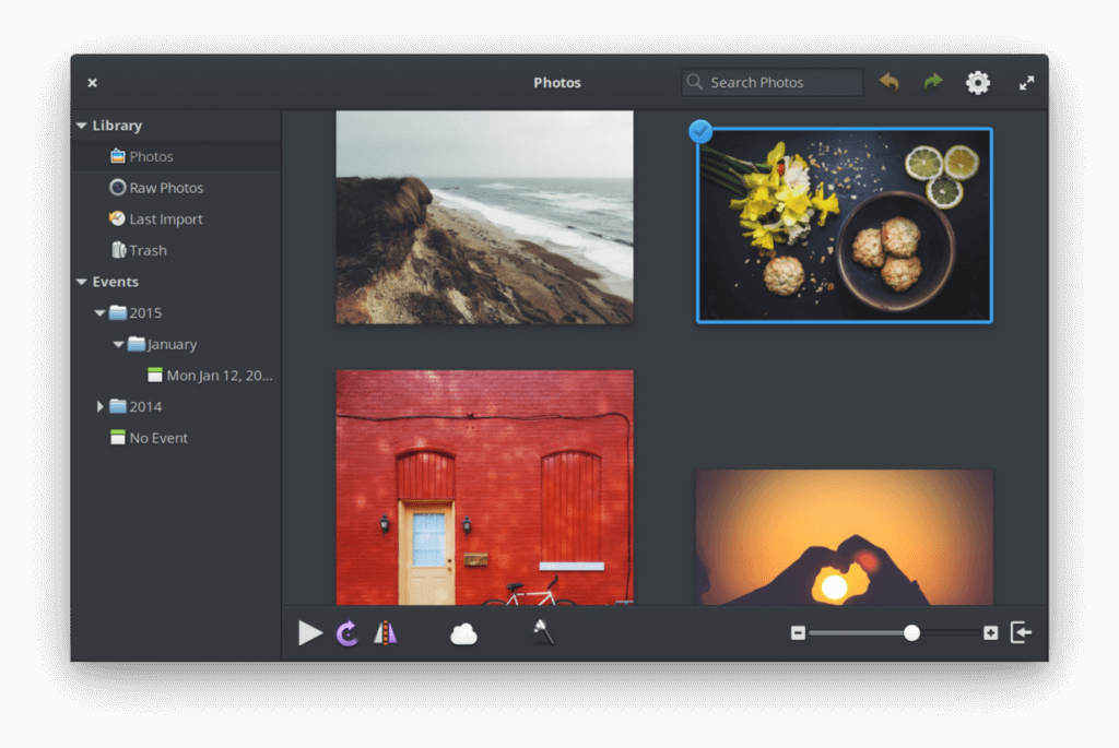 elementary OS - Photots