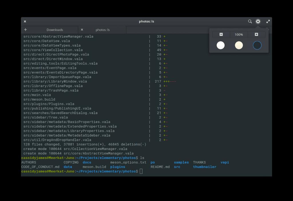elementary OS - Terminal