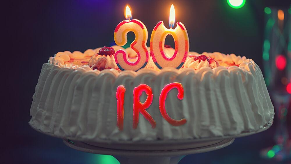 開源的互聯網聊天服務 IRC 今年30歲了