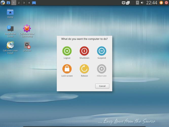 基于 Gentoo 的桌面发行版 Calculate Linux 发布 18 LXQt