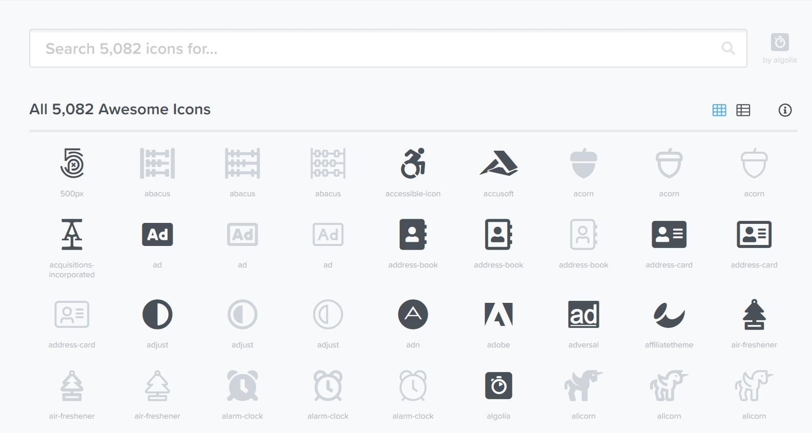 开源日报第371期:超级图标库 Font-Awesome