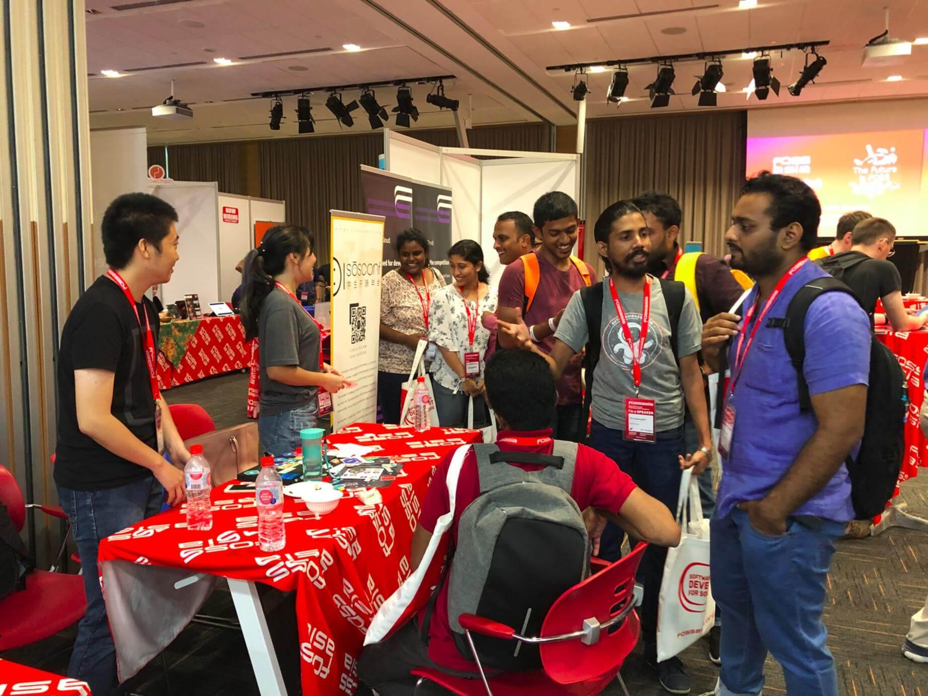 開源工場和學生開源年會聯合參展新加坡 OpenTech Summit 2019