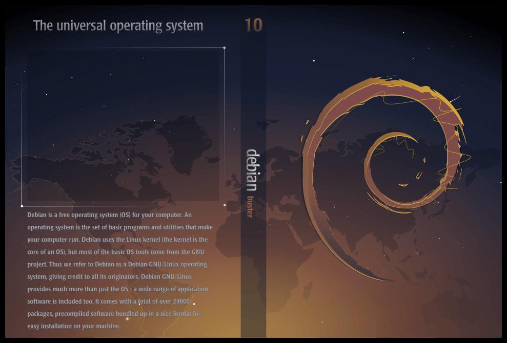 代号「buster」的 Debian 10 发布