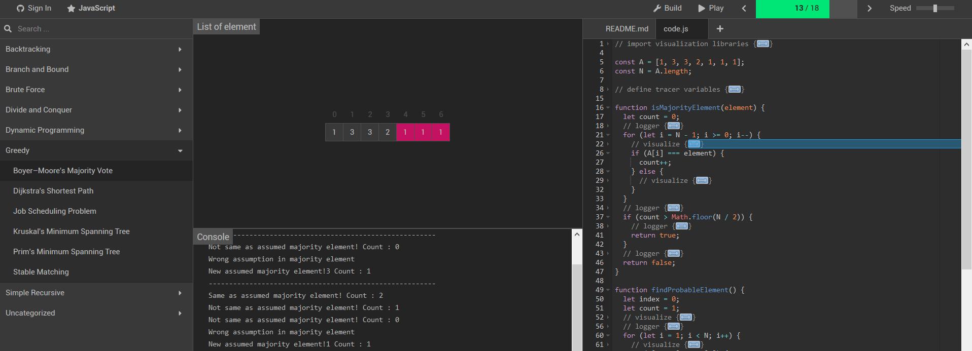 開源日報第620期:《形象生動 algorithm-visualizer》