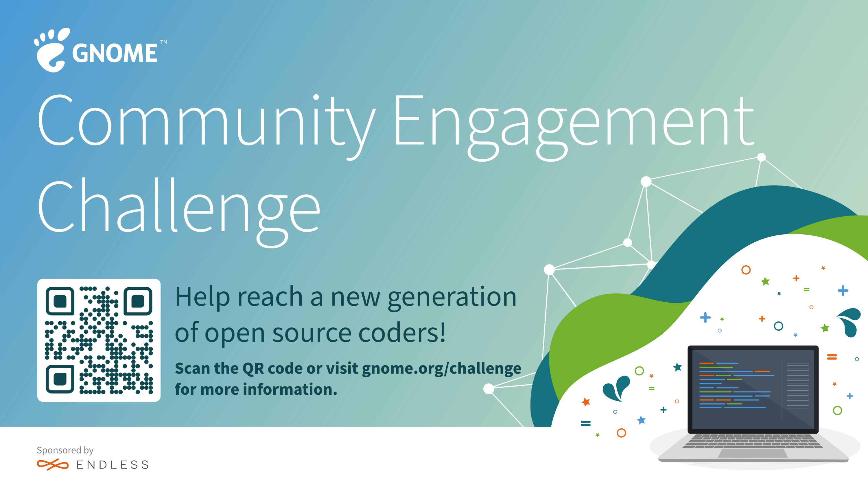 GNOME 基金會啟動社區參與挑戰賽,獎金高達6萬5千美金