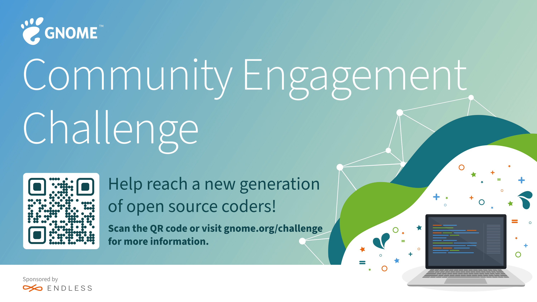 GNOME 基金会启动社区参与挑战赛,奖金高达6万5千美金