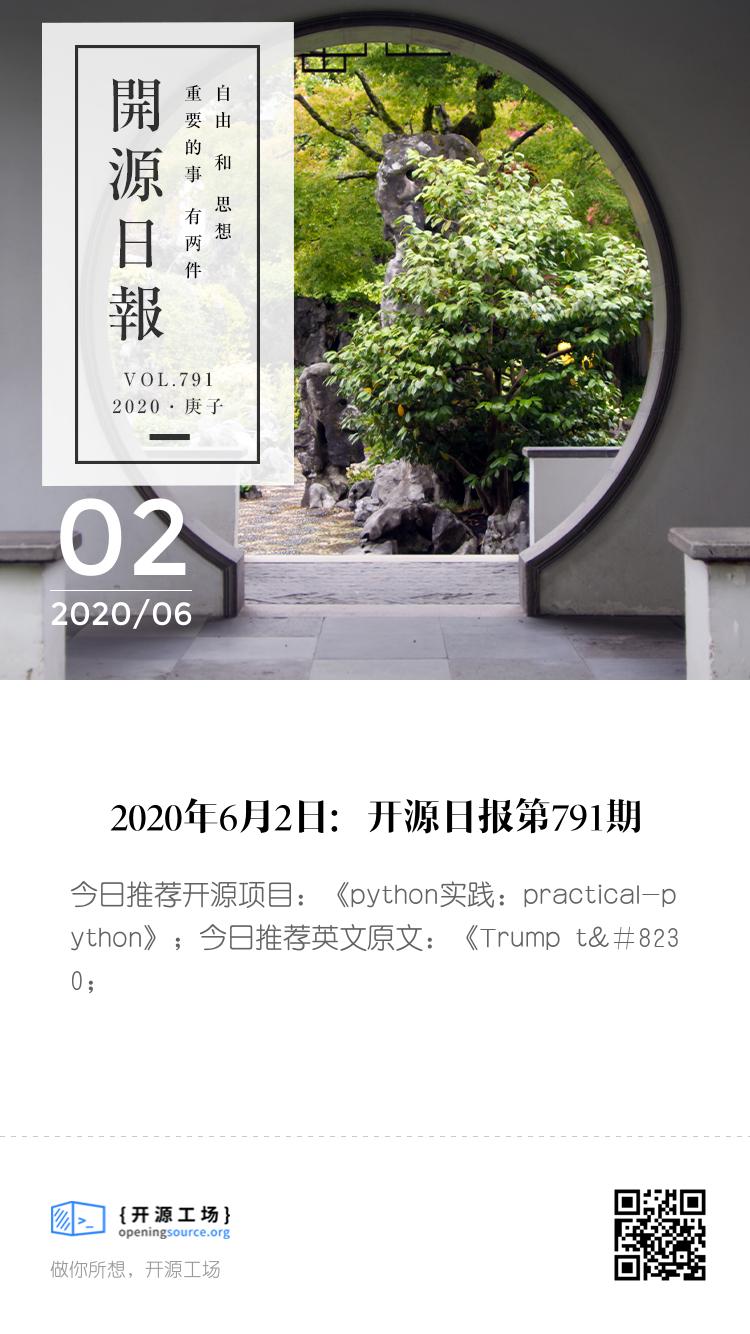开源日报第791期:《python实践: practical-python》 bigger封面